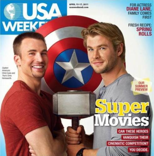 Chris Hemsworth/The Avengers