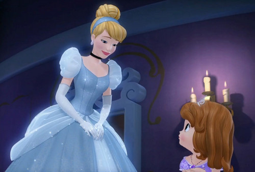 Disney Princess images Cinderella and Sofia HD wallpaper and background photos