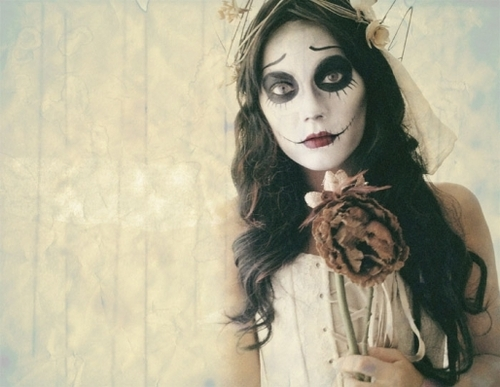 Corpse Bride Make-up
