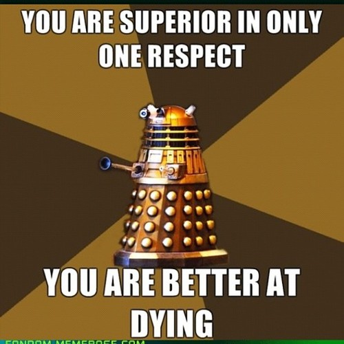 Doctor Who kertas dinding called Dalek Funnies!