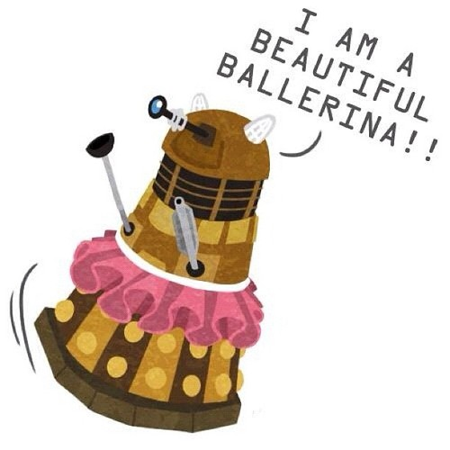 doctor who fondo de pantalla called Dalek Funnies