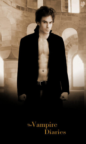 The Vampire Diaries TV دکھائیں پیپر وال containing a business suit, a suit, and a well dressed person called Damon Salvatore