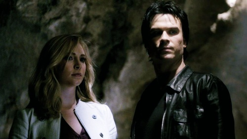 Damon and Caroline-Caroline Moments
