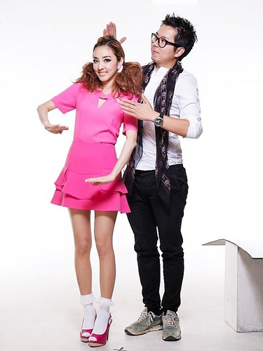 Dara for Etude House 'Lash Perm 3-step Volumecara'
