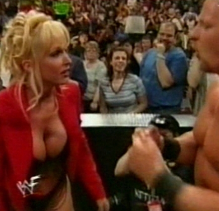 anterior diva wwe...debra fondo de pantalla called Debra - Backlash 99