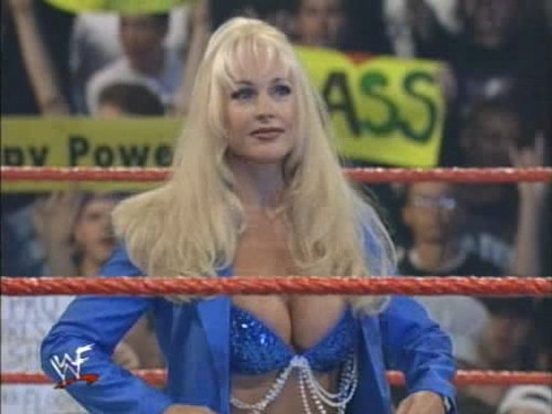 Debra and the Puppies at Summer Slam 99