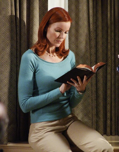 Marcia cross and pantyhose