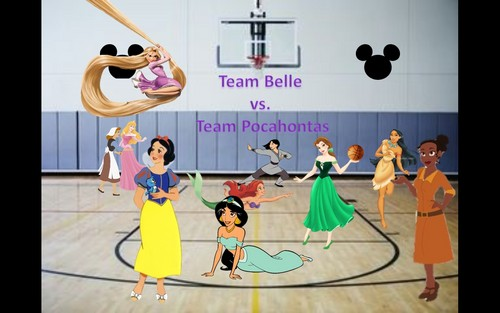 Disney Princess basketbal game