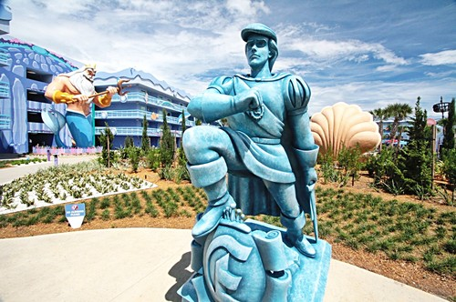 Disney's Art of uhuishaji Resort - King Triton & Prince Eric