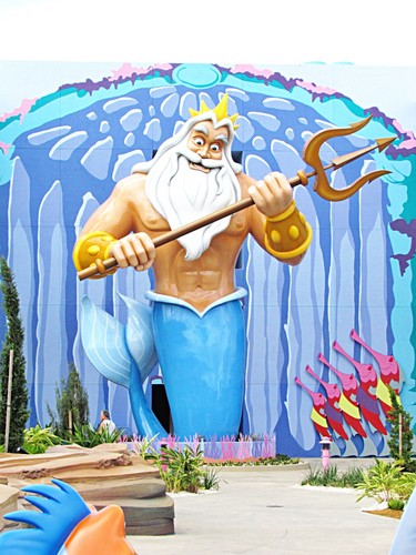 Disney's Art of اندازی حرکت Resort - King Triton