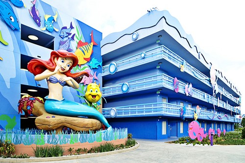 Disney's Art of Animation Resort - Princess Ariel & flunder