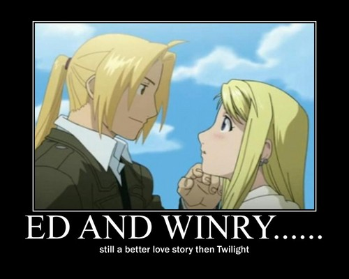 Ed and winry....