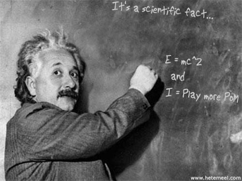 Einstein figured it out...
