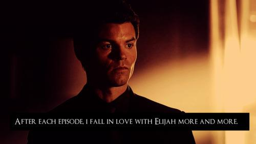 The Vampire Diaries TV Show wallpaper possibly with a portrait entitled Elijah