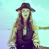 Pirates of the Caribbean photo possibly containing a box coat, an overgarment, and a shirtwaist entitled Elizabeth Swann