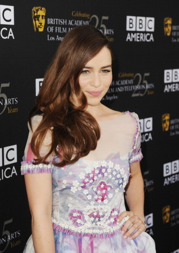 Emilia Clarke @ BAFTA LA TV Tea 2012  - game-of-thrones Photo