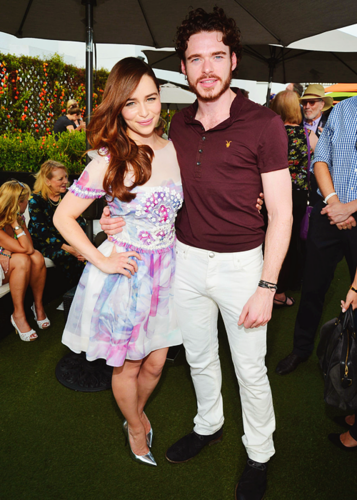 Emilia Clarke & Richard Madden @ Baftas LA TV Tea - game-of-thrones Photo