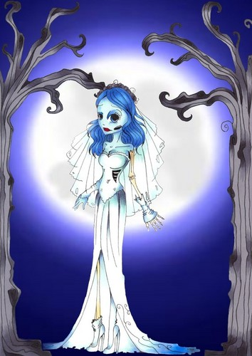 Corpse Bride wallpaper probably with anime called Emily