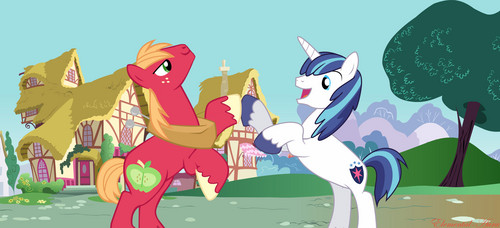Epic Big Brony Hoof Bump
