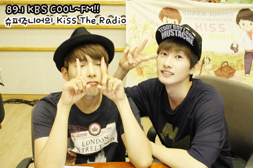 Eunhyuk and Ryeowook @ Sukira Update 09/18 (OFFICIAL)