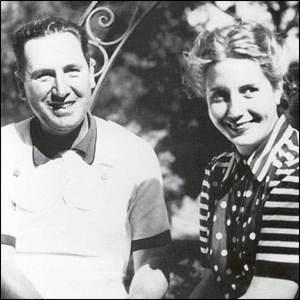 Eva and Juan Peron