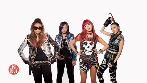 Exclusive 2NE1 Takes NYC Photoshoot!