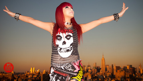 Exclusive 2NE1 Takes NYC Photoshoot!