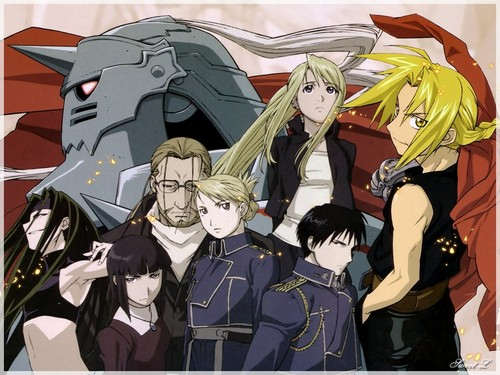 full metal alchemist wallpaper containing anime called FMA