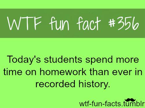 Facts on summer homework