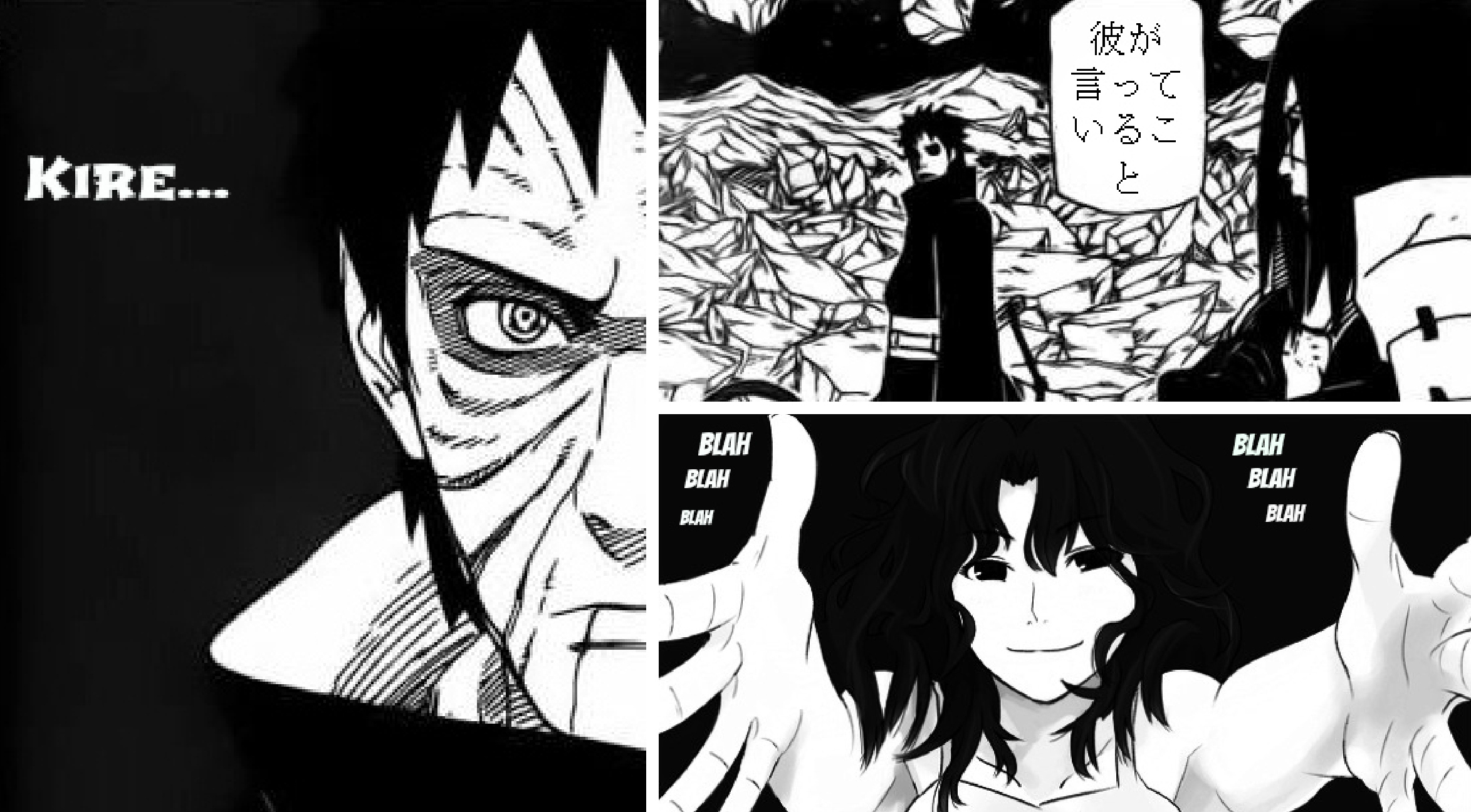 Uchiha Obito Images Fan Made Edited Manga  Hd Wallpaper And Background Photos