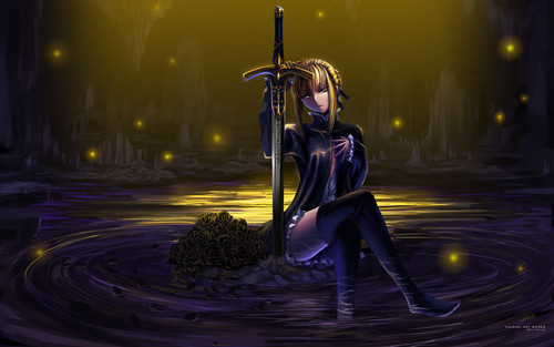 haremaster99 wallpaper probably with a vacuum, a hoover, and a street titled Fate Stay Night