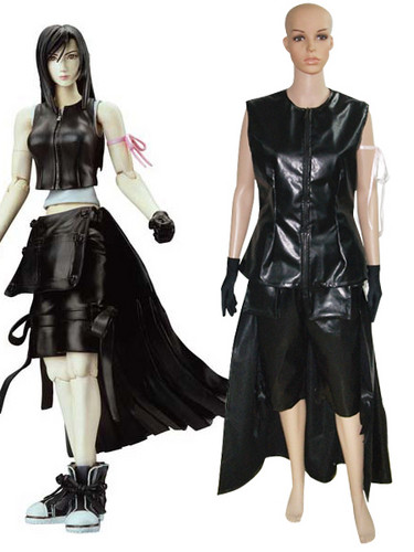 Final ndoto VII Tifa Lockhart Cosplay Costume