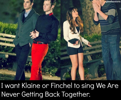 Finchel break up?