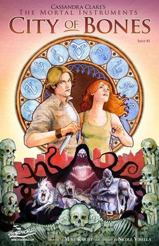 "First look at ""The Mortal Instruments: City of Bones"" graphic novel {Issue #1}."