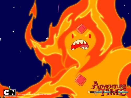Flame princess wallpaper