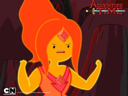 Flame princess দেওয়ালপত্র