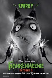 Frankenweenie posters Sparky