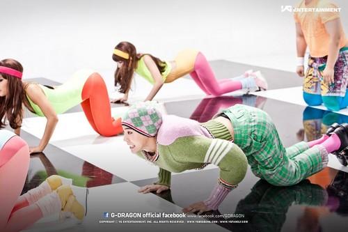 G Dragon Crayon wallpaper