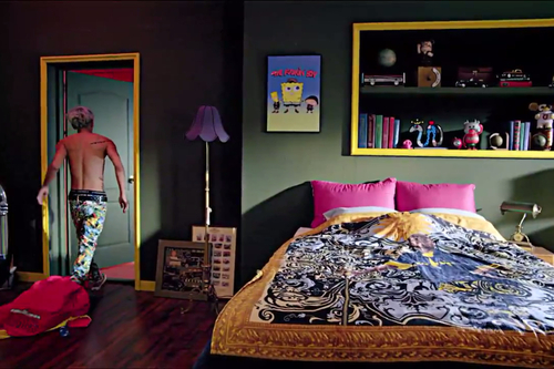 G-Dragon wallpaper with a bedroom, a living room, and a den titled G Dragon Crayon