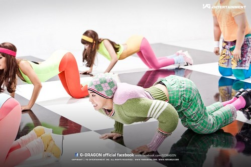 "big bang fondo de pantalla called G-Dragon Official facebook ""CrayOn"" MV fotos"