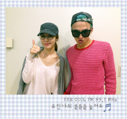 "G-Dragon @ Yoo In Na's ""Volume Up"" (120919)"