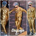 G-Dragon dresses in all oro for Ambush launch party in Gangnam