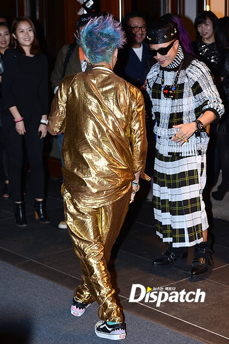 Big Bang images G-Dragon dresses in all gold for Ambush launch party in  Gangnam wallpaper and background photos f122abe02