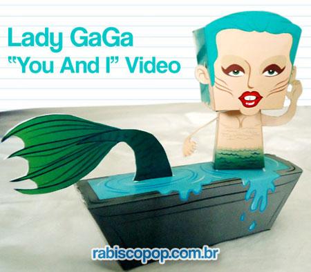 GaGa Paper Toy