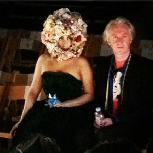 Gaga at the Phillip Tracey tampil in london