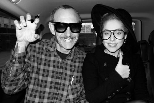 Gaga da Terry Richardson