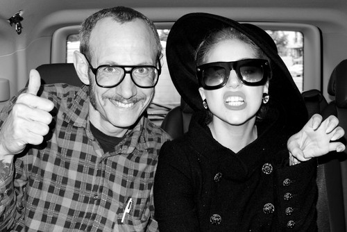 Gaga por Terry Richardson