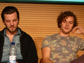 Gethin Anthony & Finn Jones @ 2012 Wales Con - game-of-thrones photo