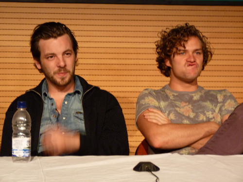 Игра престолов Обои titled Gethin Anthony & Finn Jones @ 2012 Wales Con