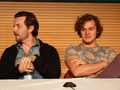 Gethin Anthony & Finn Jones @ 2012 Wales Con - game-of-thrones photo